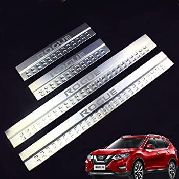 Amazon Com Car Stainless Steel Door Sill Scuff Plate Fit