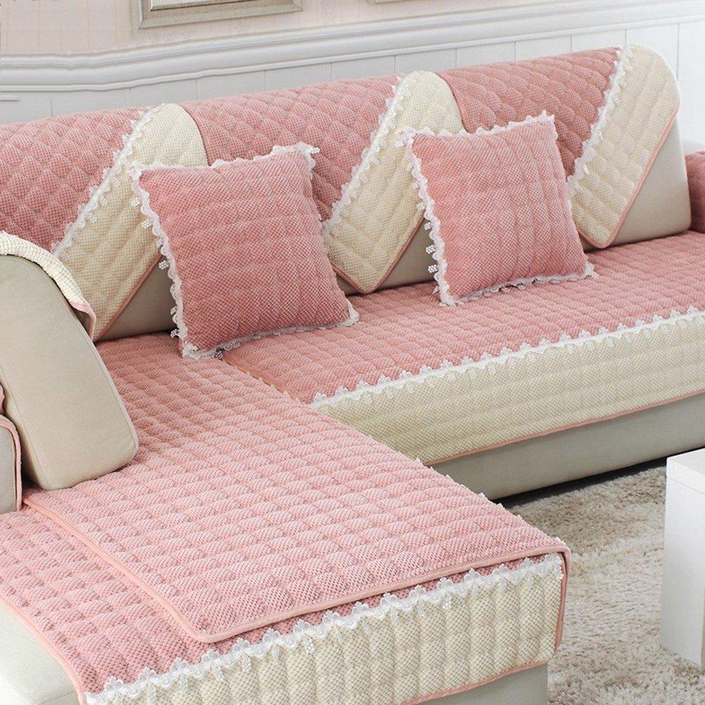 Xianw Sofabezug Sofabezug Sofabezug ausgestattet Sofa mBel Protector Jacquard Stretch-Anti-Falten-Slip-F 90x120cm(35x47inch) B07KF1J54P Sofa-überwürfe b0d800