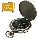 Kompass Premium Portable Taschenuhr Flip-Open Kompass Camping Wandern Kompass Outdoor Navigation Tools