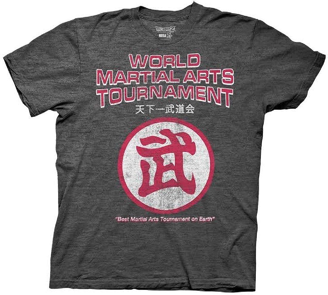 Dragon Ball Z World Martial Arts Tournament Logo Adult T-Shirt DZAS2375