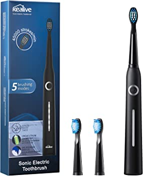 Kealive Ultra Whitening Electric Rechargeable Sonic Toothbrush