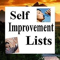 Self Improvement Lists