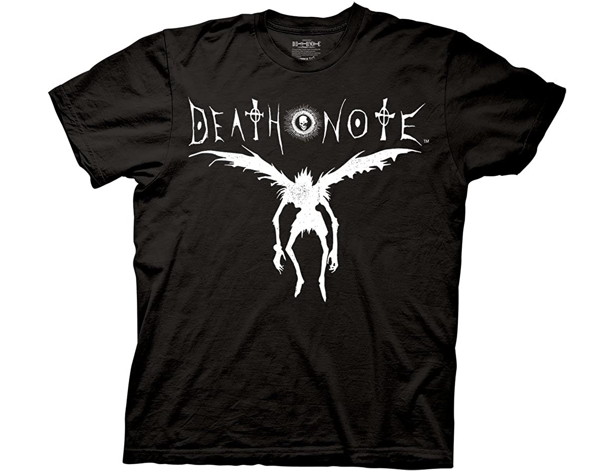 Ripple Junction Death Note Death Note Ryuk Silhouette Adult T-Shirt NOAS2011TOTAL
