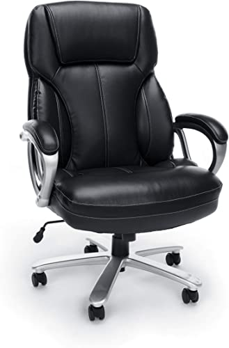 OFM Essentials Big & Tall Leather Executive Chair