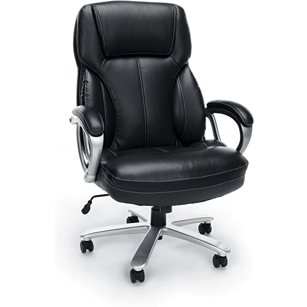 Gunmetal Finish Base Ergonomic Managers Chair Adjustable Arms SPACE Seating Big and Tall AirGrid Back and Padded Mesh Seat Black United Stationers 75-37A773