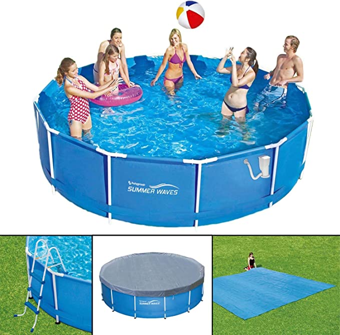 Summer Waves Frame Pool 366 x 91 cm Marco swimming pool Familias ...