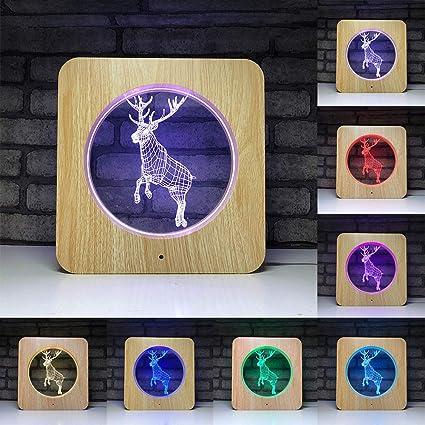 Luces de noche de animales para niños, 7 Conversión de color ...