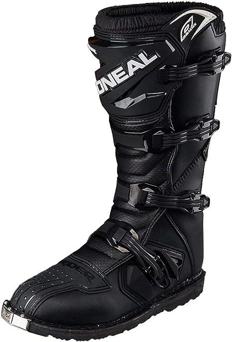 /1 HEYBERRY O Neal Rider Boot MX Stivali Nero Motocross Cross Moto Enduro 0329/