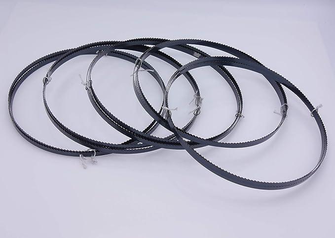5er SET Holzbands/ägeblatt 2240 x 6 x 0,65 mm 6 ZpZ Holzs/ägeband S/ägeband passend f/ür Metabo Atika Einhell G/üde