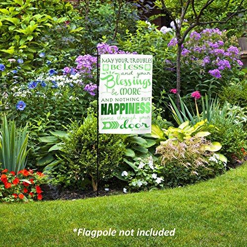 Amazon.com: Lily s rossne personalizado bandera de Jardín ...