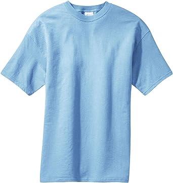 Port /& Company Tall Essential T-Shirt-4XLT Sand ,2X Tall,Light Blue