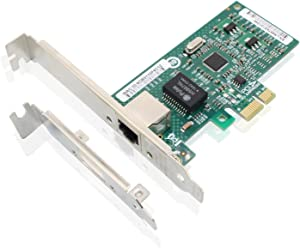 Tanbin Intel 82574L Chipset 1G Gigabit CT Desktop PCI-e Network Adapter (NIC), Single Copper RJ45 Port, Same as EXPI9301CT