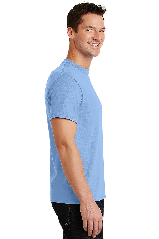 Logotastic Unisex-Adult Rmk Port /& Company Core Cotton Tee Aquatic Blue - CASE Pack of 72