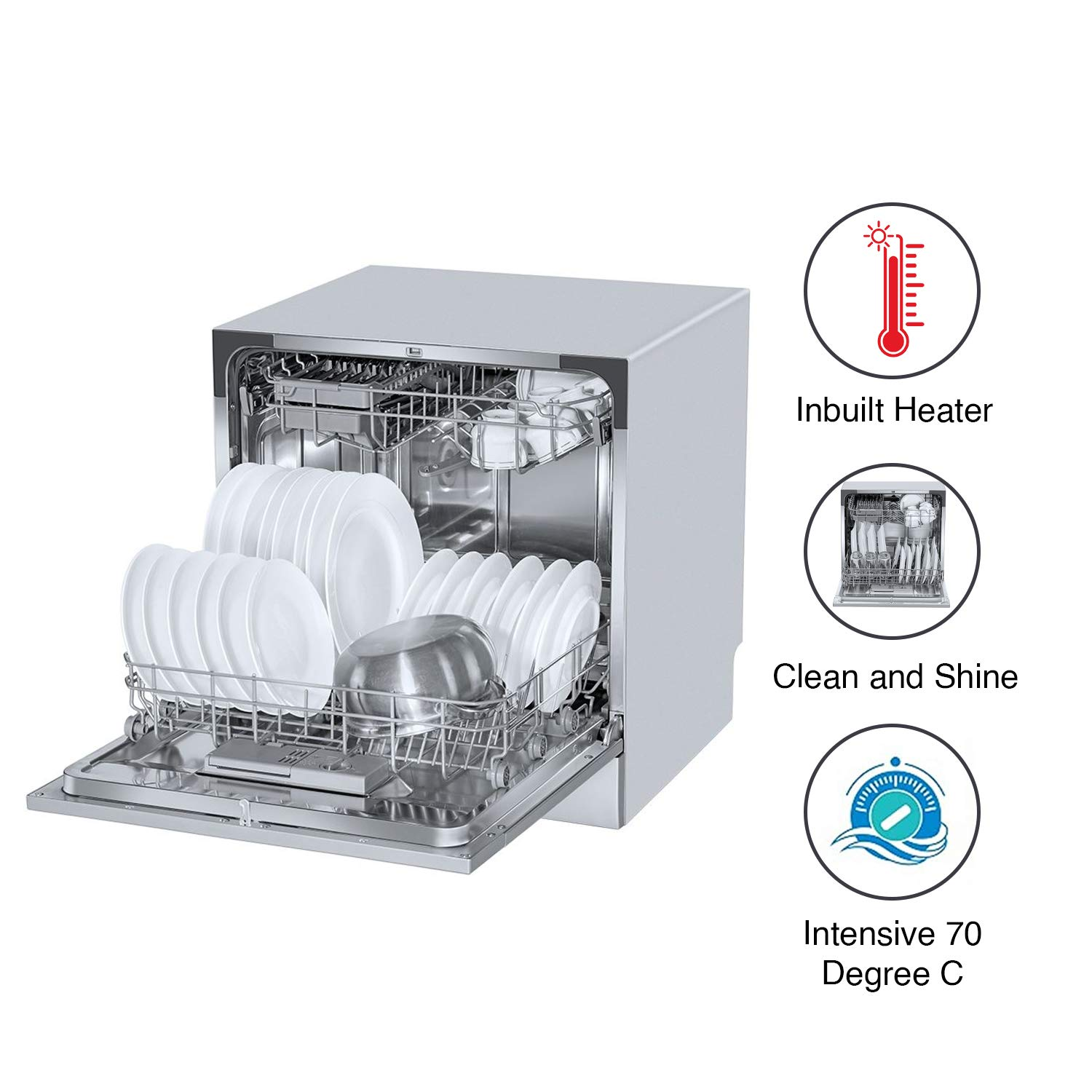 Voltas Beko table top dishwasher review