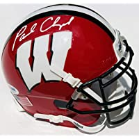 $199 Get PSA/DNA Wisconsin Badgers Paul Chryst Autographed Signed Helmet Go Badgers