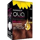 Garnier Olia Colorazione Permanente, 5.5 Mogano