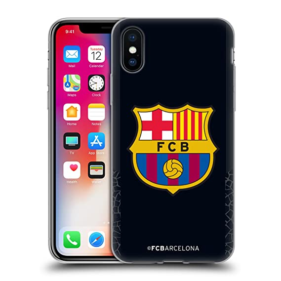 174c66a9c Image Unavailable. Image not available for. Color  Official FC Barcelona  Goalkeeper Black 2017 18 Crest Kit ...