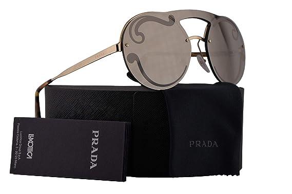 8f927eff8e5 Amazon.com  Prada PR65TS Sunglasses Pale Gold w Gold 36mm Lens ...