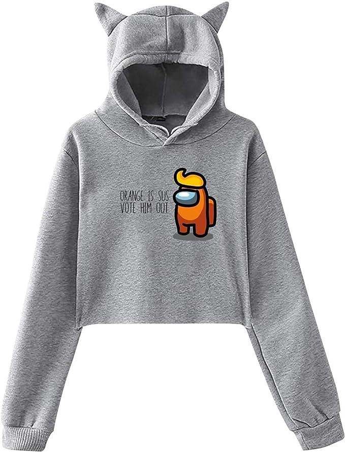 HOT Among Us Spiel Sweatshirt Herren Kapuzenpullover Hoodie Pullover neu