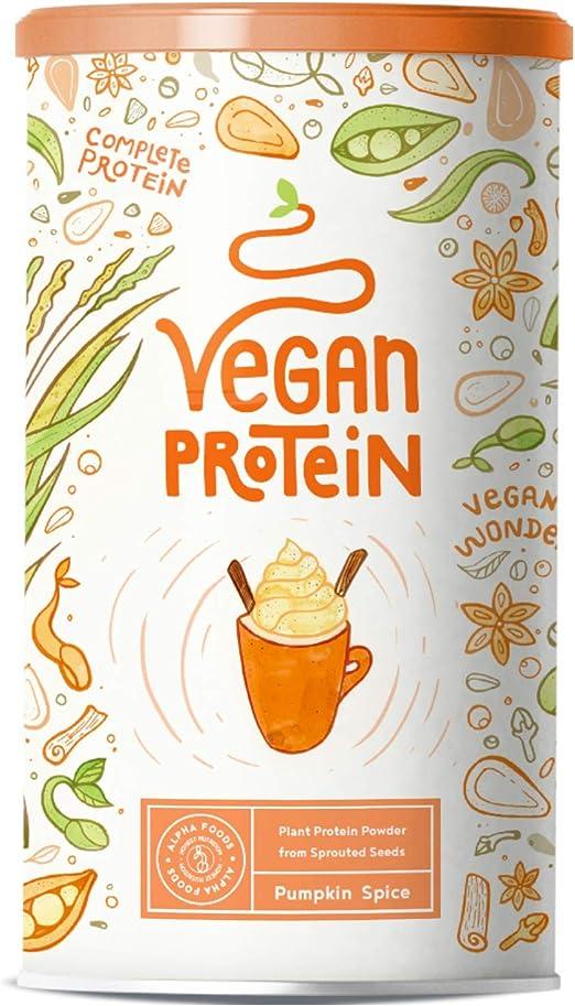 Proteina Vegana | PUMPKIN SPICE | Proteína vegetal de arroz ...