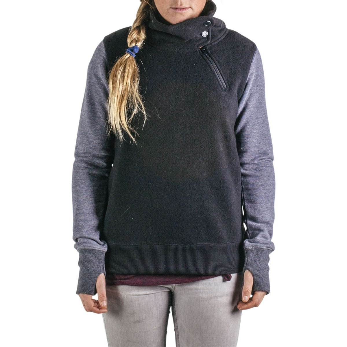 Amazon.com: Holden Sherpa Pullover - Women's Black X-Small: Sports ...
