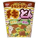 日清 チキンラーメンビッグカップ チキとん 鶏ガラペッパー豚骨味 101g ×12個