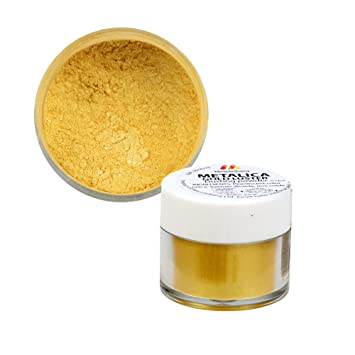 Amazon.com : Mendelberg Food-Color Dusting Powder, Metallic ...