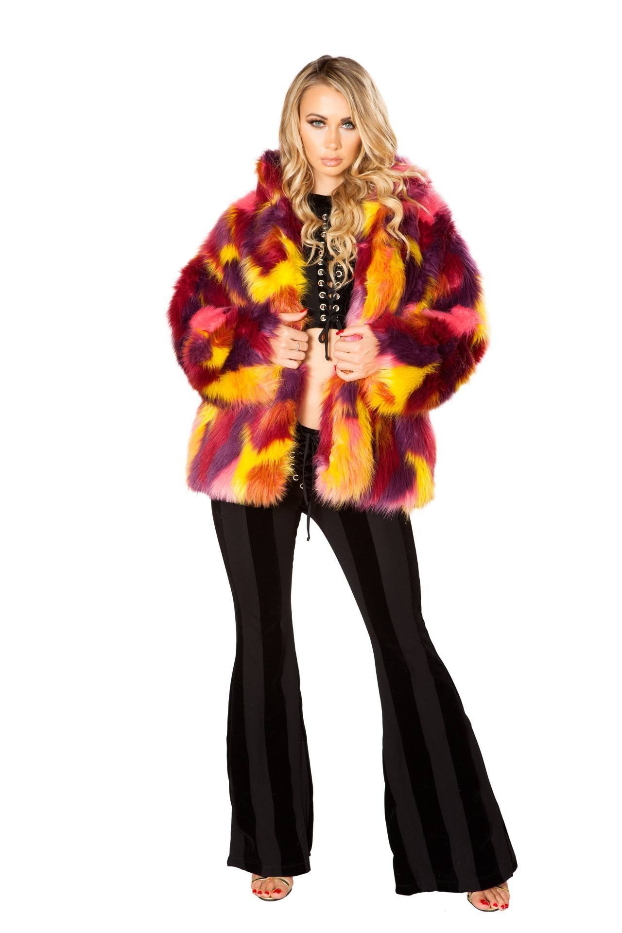 J. Valentine London Hip Length Coat Bundle with Pink Shorts