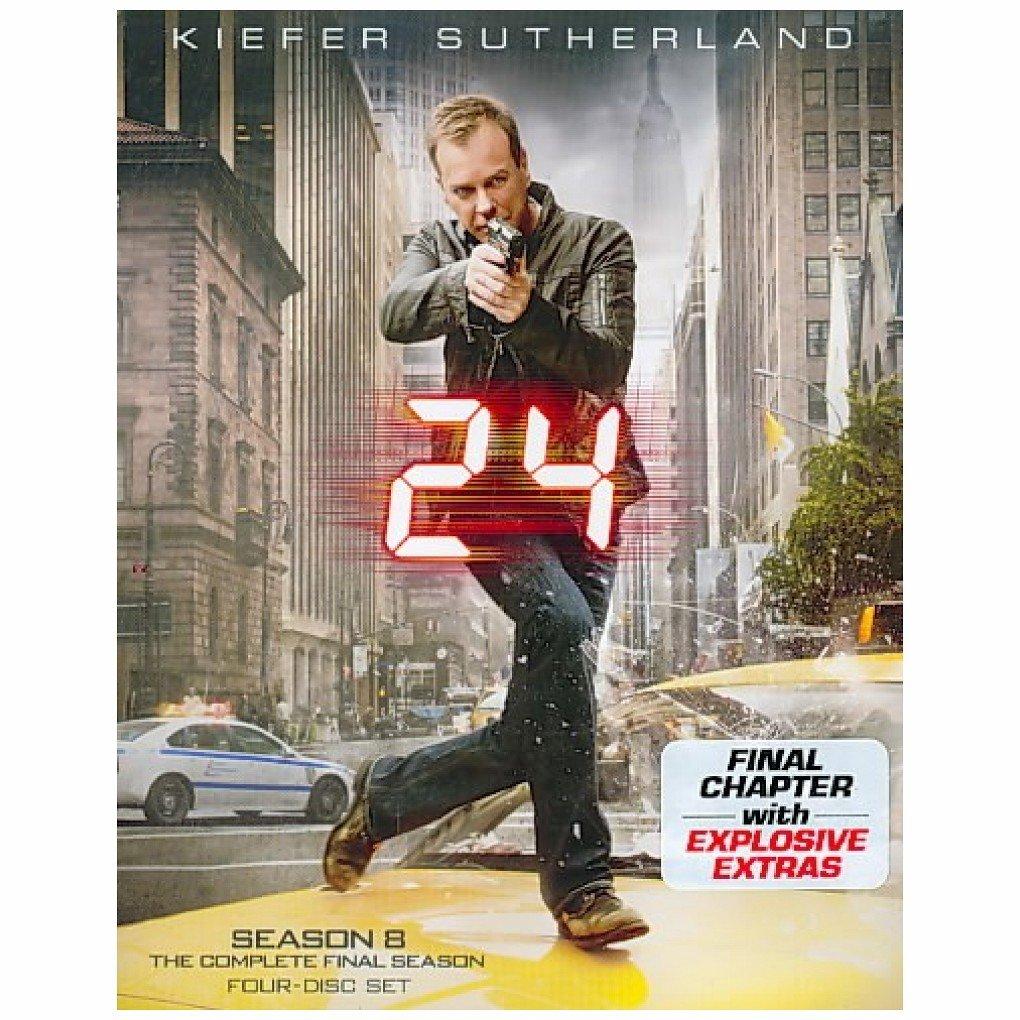 Blu-ray : 24: Season Eight (Dolby, AC-3, , Digital Theater System, Repackaged)
