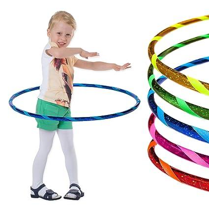 Bunter Hula Hoop Hula-Hoop Reifen 60 cm Kinder Fitnessreifen Gymnastik Business & Industrie