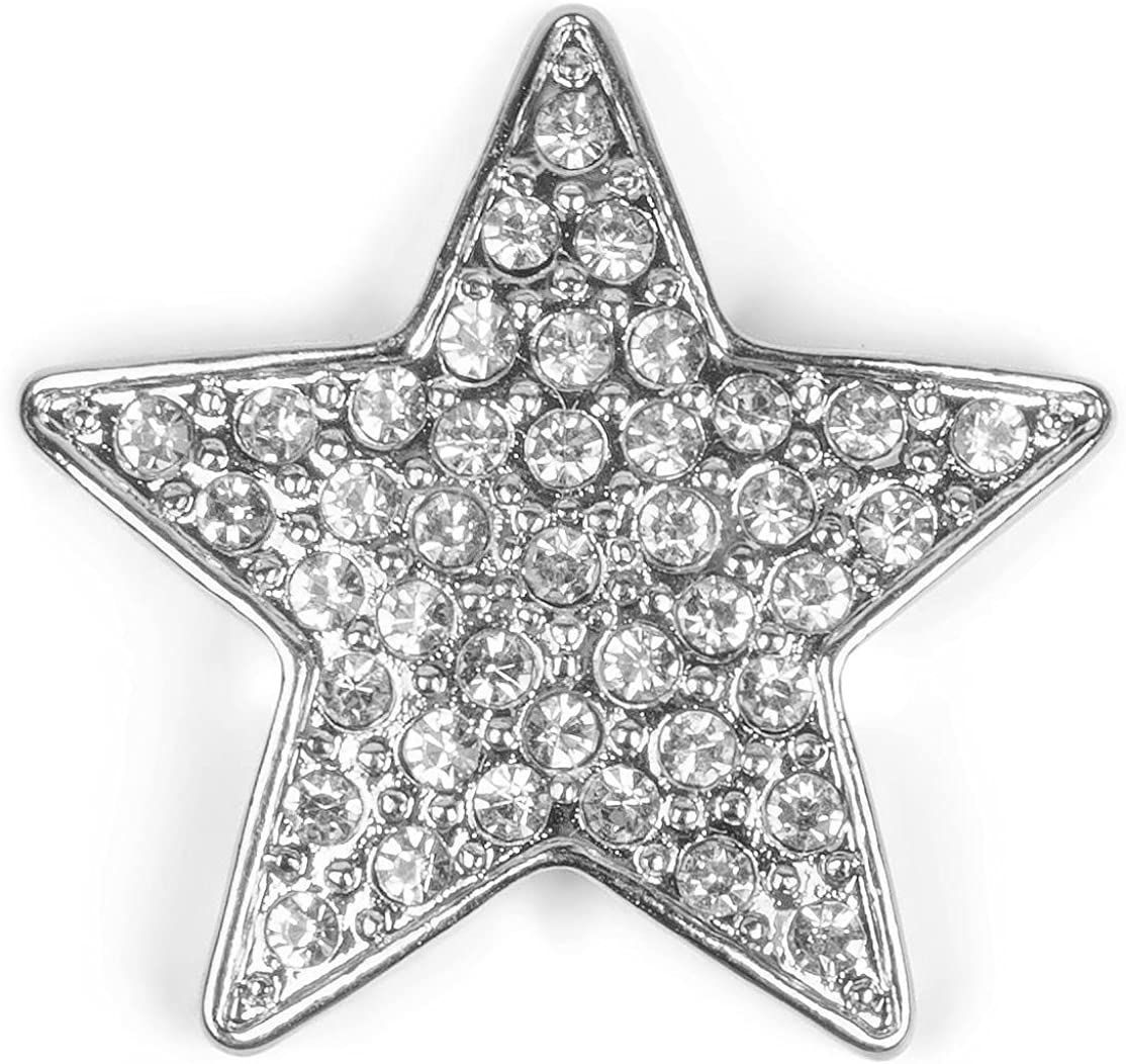 Femme styleBREAKER Broche magn/étique Style /étoile avec Strass pour v/êtement ch/âle et Poncho /écharpe Parure 05050043