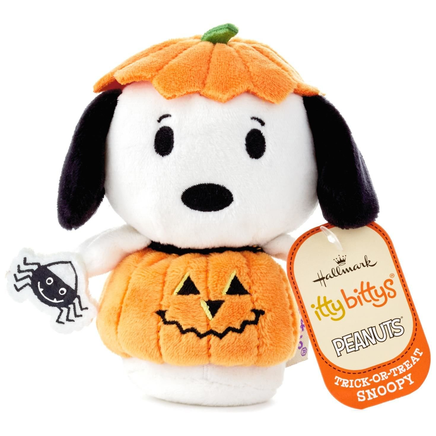 Amazon Com Itty Bittys Peanuts Trick Or Treat Snoopy Stuffed
