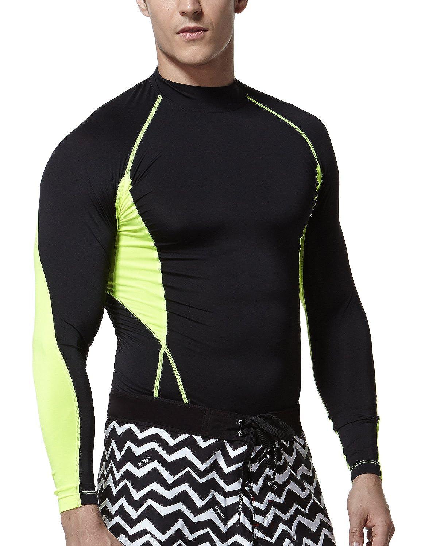 (テスラ)TESLA 長袖 ハイネック スポーツシャツ [UVカット吸汗速乾] コンプレッションウェア パワーストレッチ アンダーウェア T11 / MUT72 B0788WGLV8V-TM-T02-KN Large