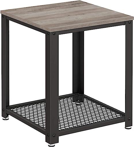 Amazon Com Vasagle Sofa Table Greige Home Kitchen