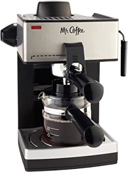 Mr. Coffee Stainless Steam Espresso Machine Under $400