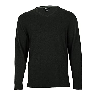 Alfani Mens Knit Long Sleeves Pullover Sweater Gray L at Men's Clothing store