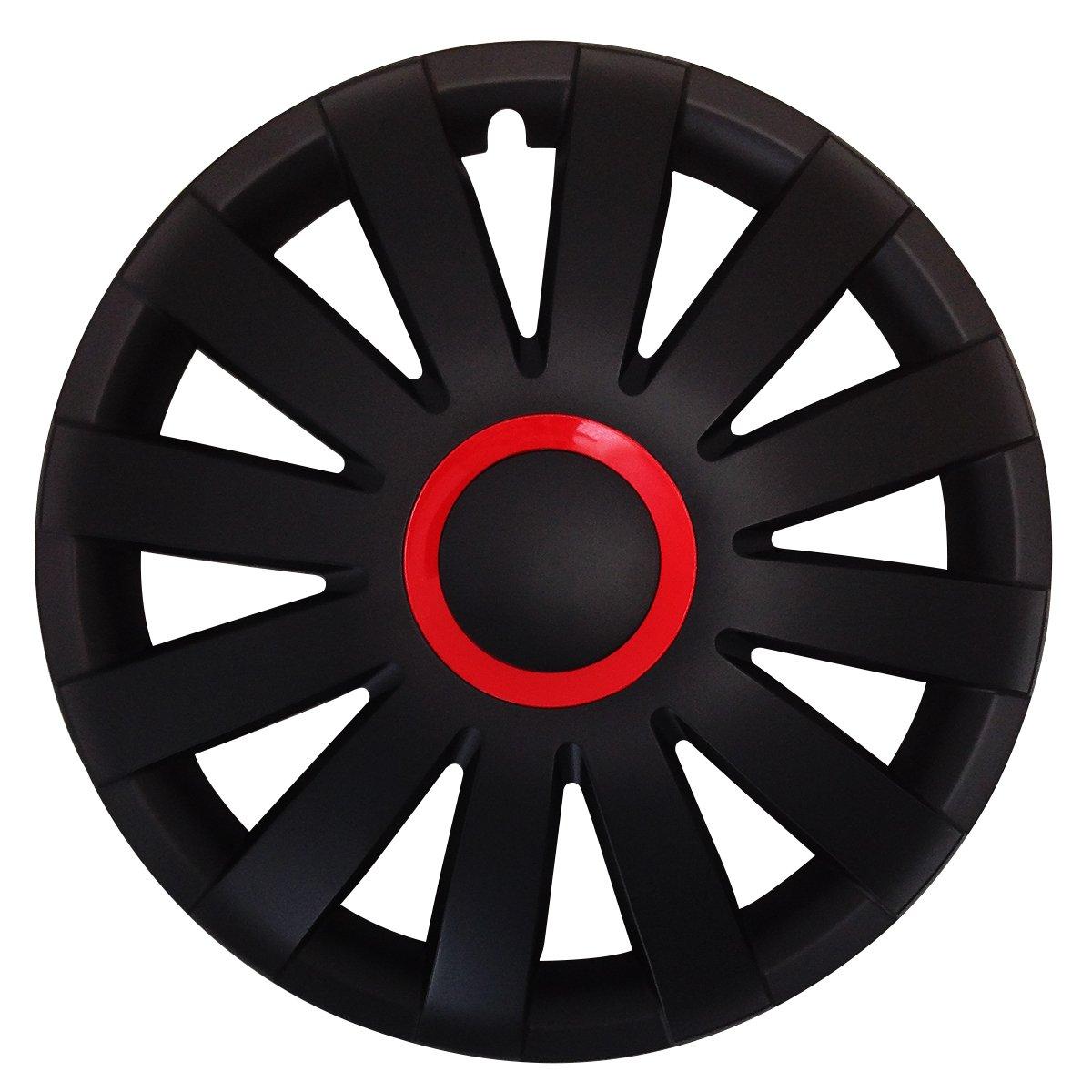 15 Zoll Radkappen AGAT passend f/ür fast alle Fahrzeugtypen Farbe /& Gr/ö/ße w/ählbar! Gr/ün universal