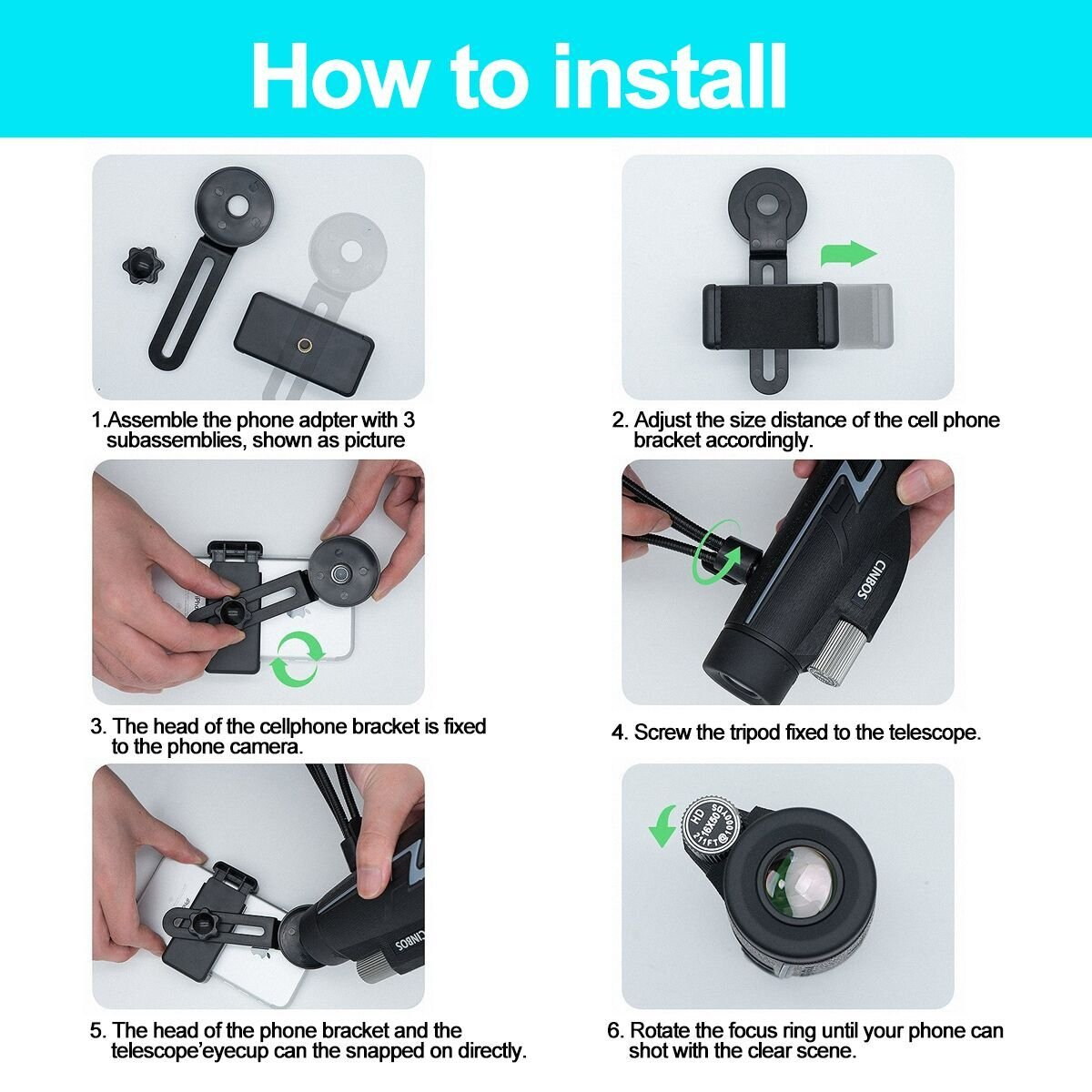 Ciysty Compact Binocular Folding Durable Binoculars stargazing for Bird Watching children Sporting Game