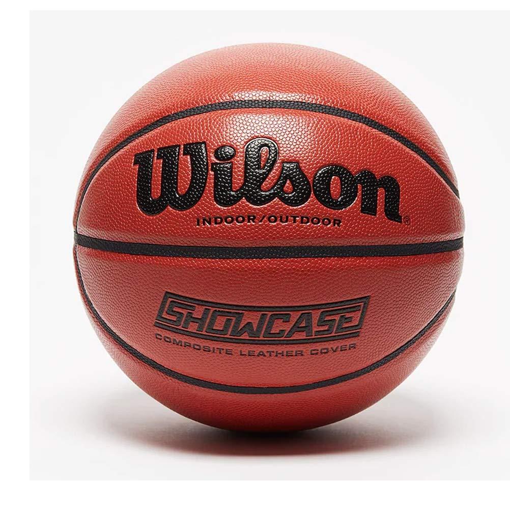 Wilson WTB2677XB07 Pelota de Baloncesto Showcase Cuero sintético ...