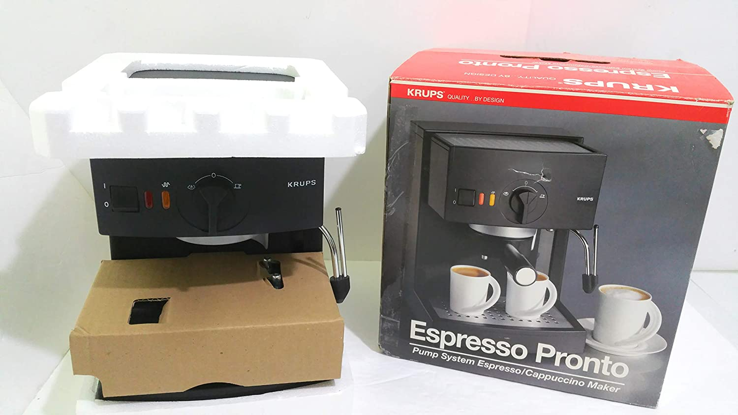 Amazon.com: Krups Espresso Pronto #988: Kitchen & Dining