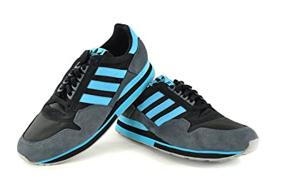 adidas ZX 500 shoes black blue