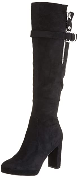 Guess Abalene2Stivale (Boot)Fabric, Stivali Alti Donna