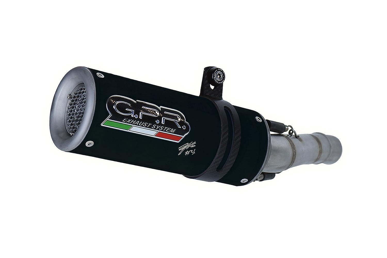 GPR Italia Y.177.M3.BT Anlage f/ür Yamaha Mt-07 2014//2016 M3 Black Titanium Joan Mir Limited Edition 2 in 1