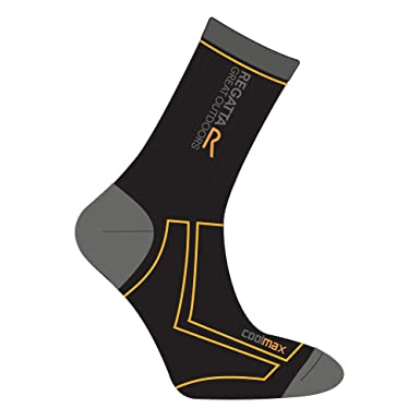 Regatta - Calcetines caminar/treking/trail Modelo Coolmax 2 Season coleccion Great Outdoors hombre caballero: Amazon.es: Ropa y accesorios