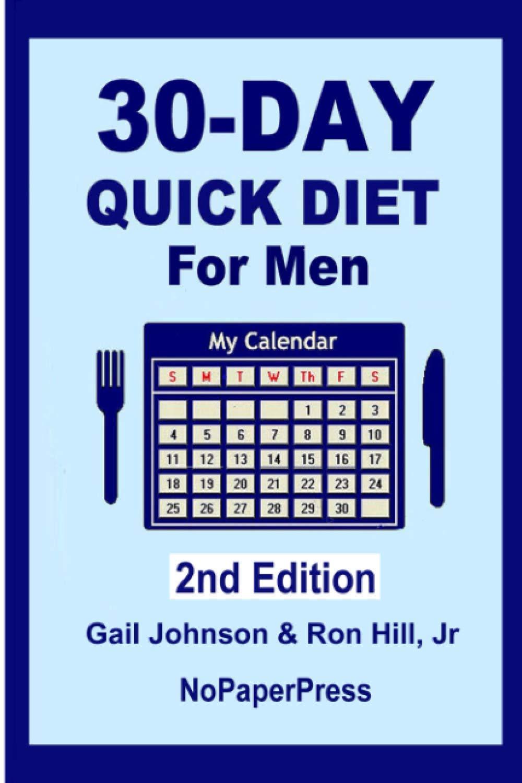 30-Day Quick Diet for Men: Amazon.es: Johnson, Gail, Hill Jr ...