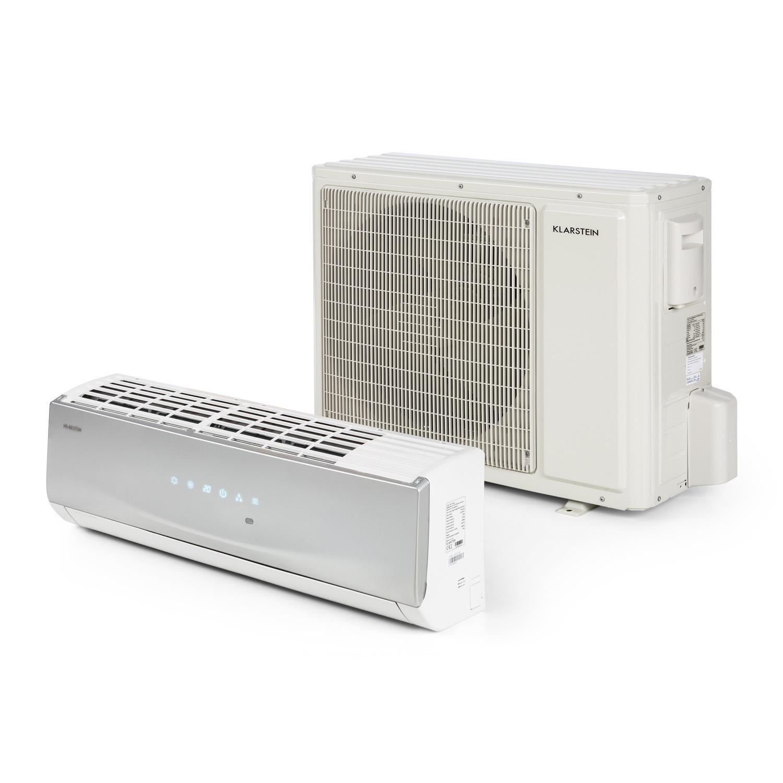 Klarstein Windwaker Pro 18 Climatiseur type Split • 18000 BTU • 5 modes climatisation • Chauffage 16-30C° • Basse consommation A++ • Ventilateur 4 niveaux • 850 m³/h • Technologie Inverter product image