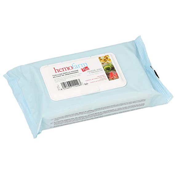 HEMOFARM - HEMOFARM PLUS 60 TOALL SOBR