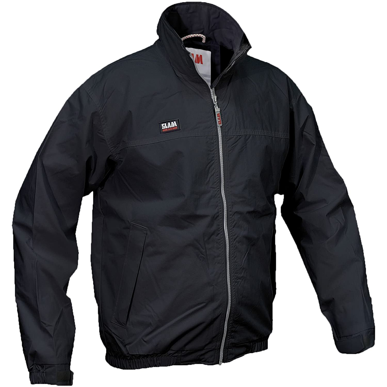Slam Summer Sailing Jacket - 3 Colours/Sml - 2XL - Navy - 2XL at Amazon Mens Clothing store: