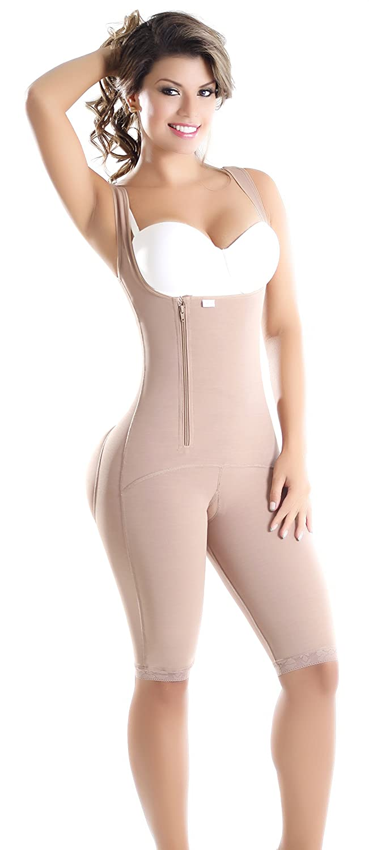 Faja Colombiana Short girdle firm fit waist slim abdomen control levanta cola