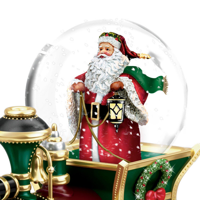 amazon com thomas kinkade santa claus is comin u0027 to town musical